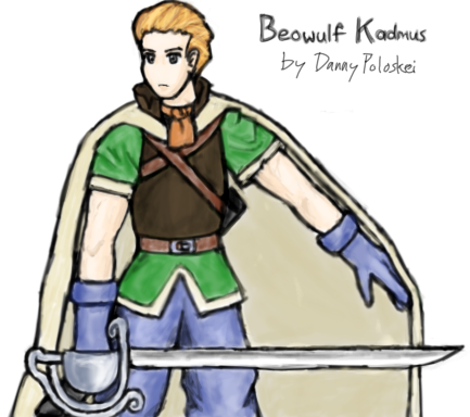 Beowulf Kadmus from Final Fantasy Tactics by Danny Poloskei