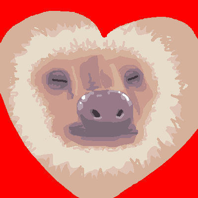 MS Paint sloth by Danny Poloskei