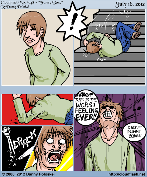 This comic was originally from Dec 12, 2008, but I remade it in 2012. The original was too poorly drawn and panelled!